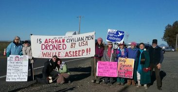 Non-Violent Protest Against Drone Warfare/Militarization