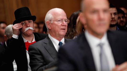 Monopoly Guy Goes To Washington