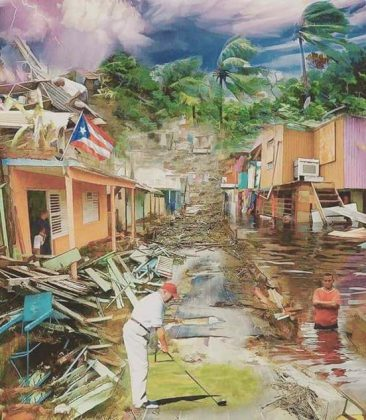 Aftermath Of Hurricane Maria