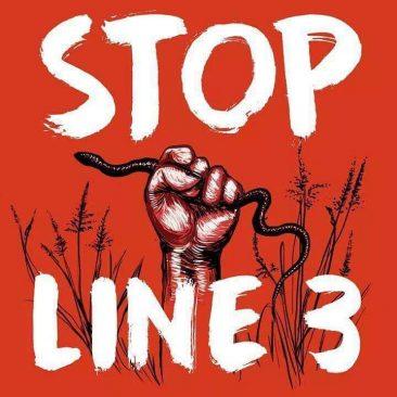 Stop Line 3 of DAPL Pipeline