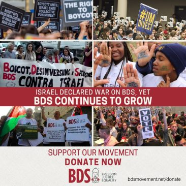 Isreal Declares War On BDS