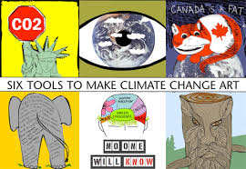 Six tools for Climate Change Art