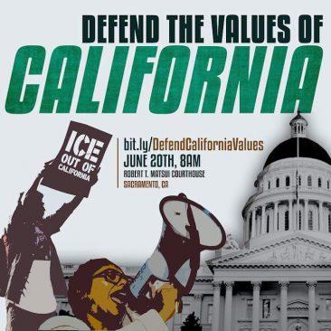 Defend California Values