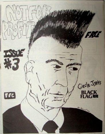 Circle Jerks Black Flag