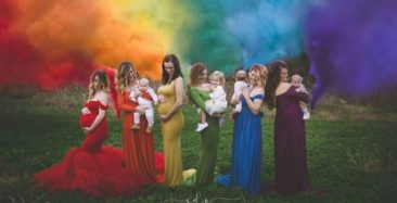 Rainbow Of Mothers
