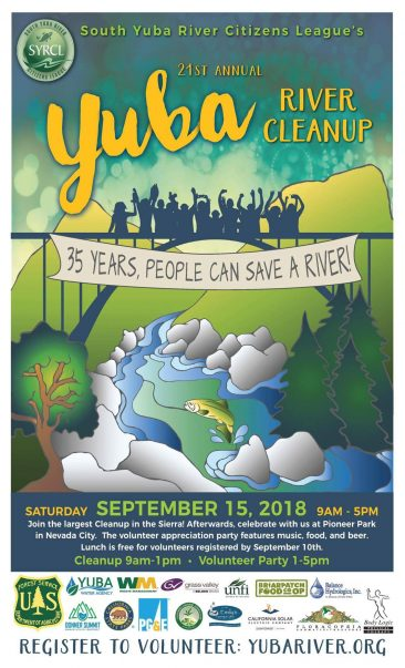 21st Yuba River Clean-up