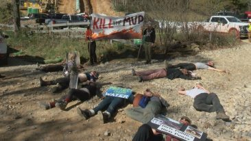 Halloween Die-In At Montgomery County